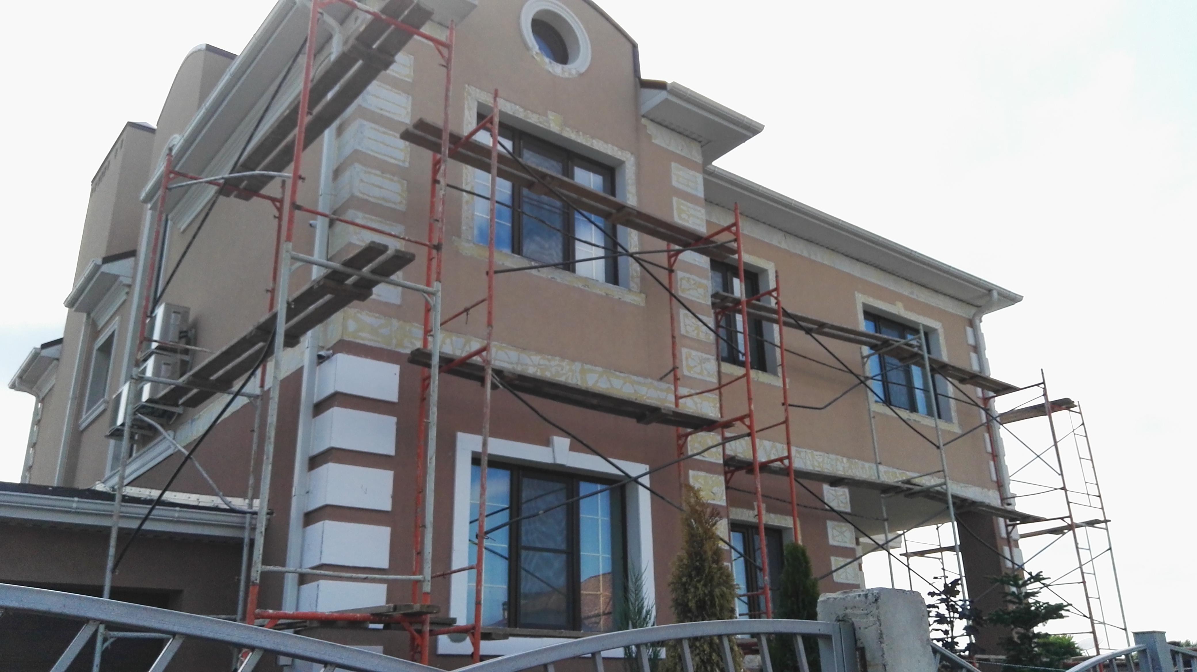 Состав проекта ремонта фасада