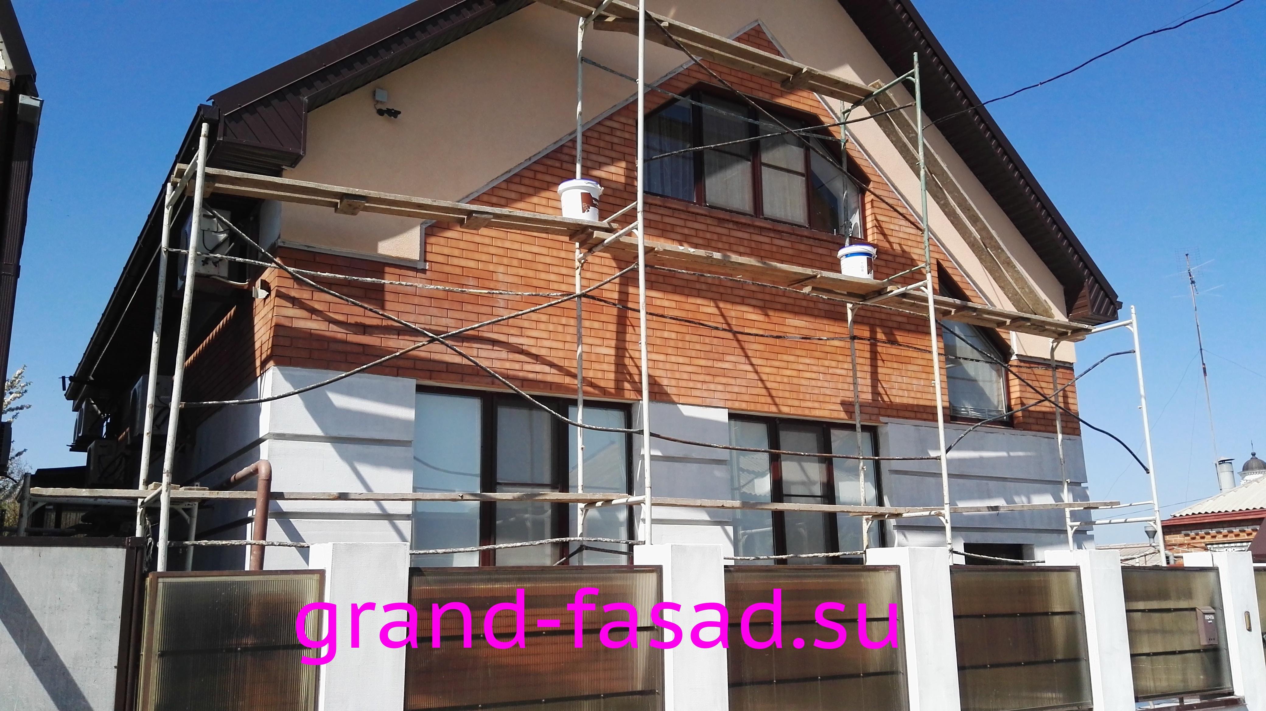 Отделка фасадов планкеном из лиственницы