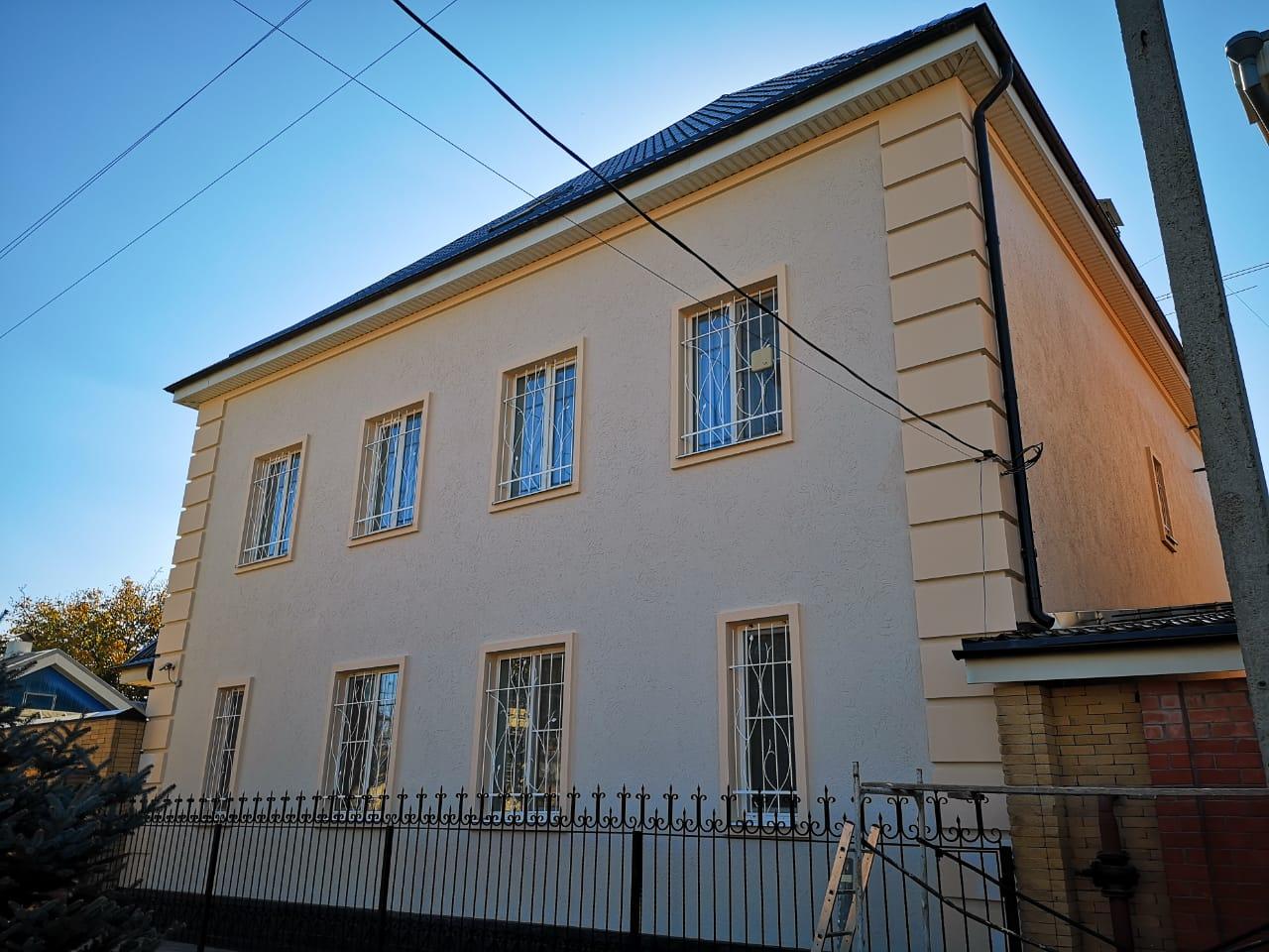 Фасад под покраску этапы